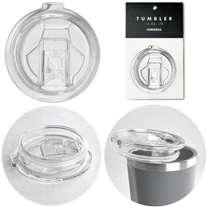 CORKCICLE 24OZ CLEAR TUMBLER LIDS