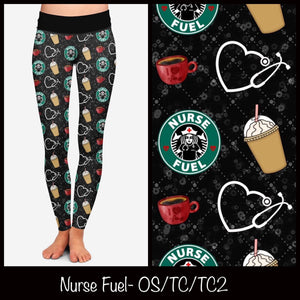 NURSES FUEL LEGGINGS