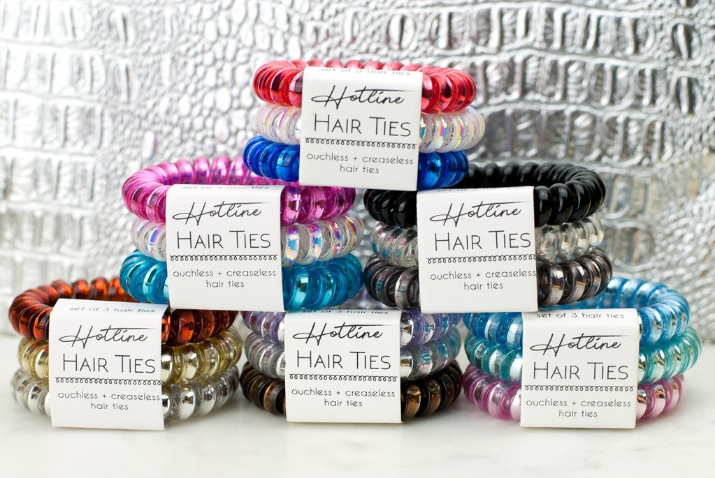 HOTLINE HAIR TIES [PICK A COLOR]