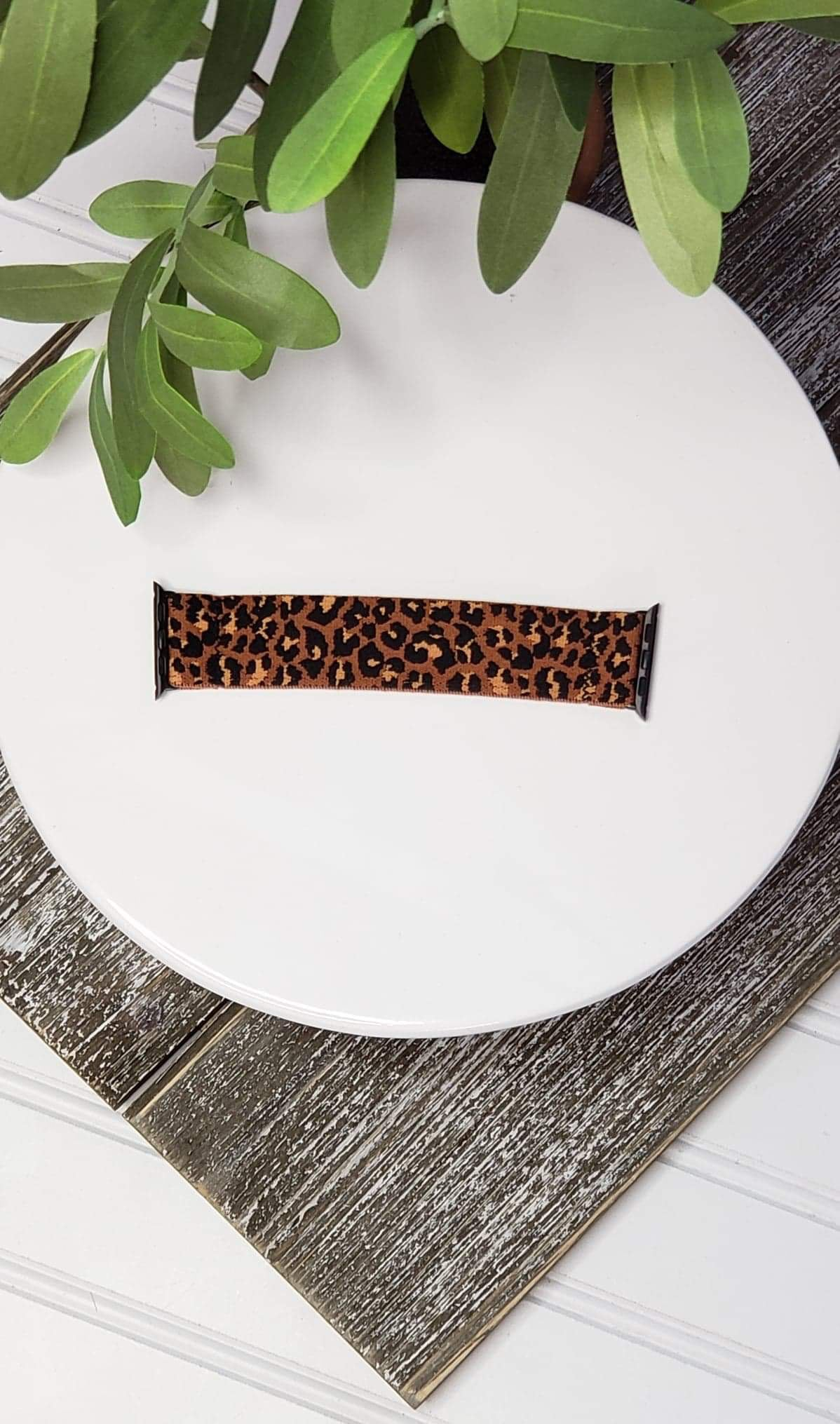 APPLE WATCHBAND- LEOPARD STRETCH