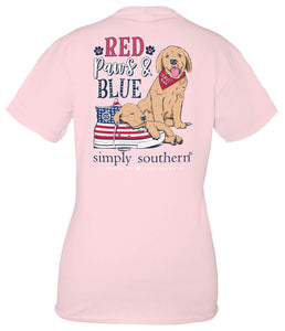 SIMPLY SOUTHERN SHORT SLEEVE YOUTH - SNEAKERS