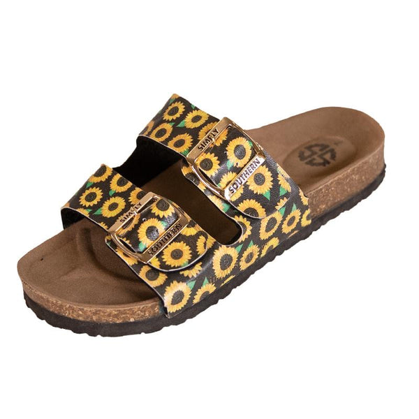 SIMPLY SOUTHERN BIRK SANDALS [PICK YOUR COLOR]