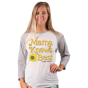 SIMPLY SOUTHERN LONG SLEEVE- MAMA KNOWS BEST