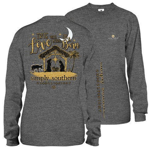 SIMPLY SOUTHERN LONG SLEEVE - HOLYNIGHT