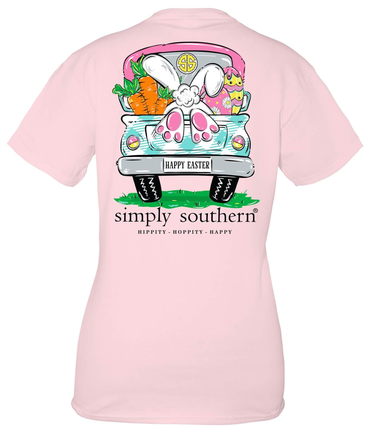 SIMPLY SOUTHERN SHORT SLEEVE YOUTH - BUNNY LULU