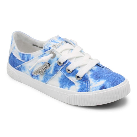 BLOWFISH BLUE SALT WATER TIE DYE SNEAKERS