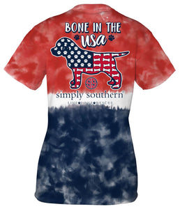 SIMPLY SOUTHERN SHORT SLEEVE YOUTH - BONE
