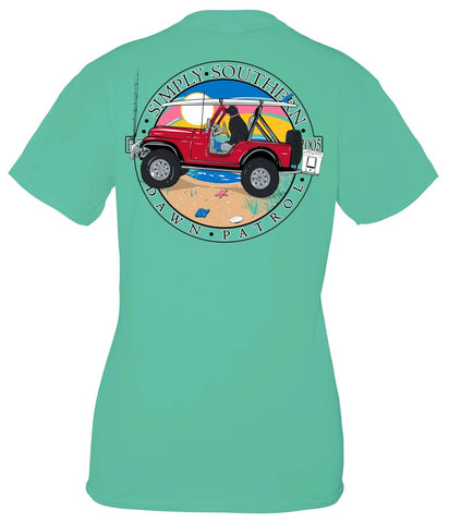 SIMPLY SOUTHERN SHORT SLEEVE YOUTH - PATROL