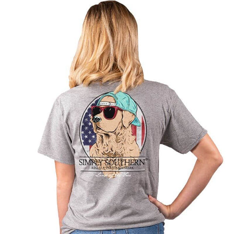 SIMPLY SOUTHERN SHORT SLEEVE YOUTH - FREEDOM