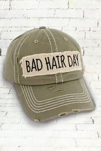 TAN BAD HAIR DAY HAT