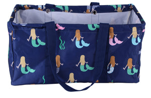 BLUE MERMAID LARGE UTILITY BAG