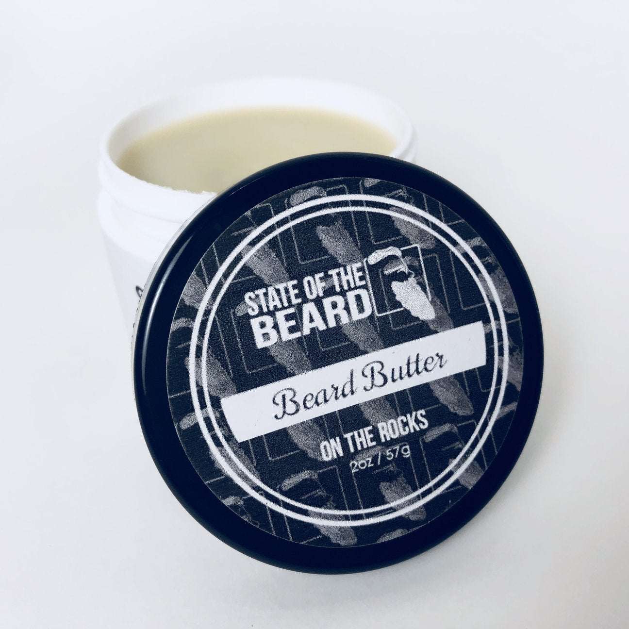 STATE OF THE BEARD - BEARD BUTTER ON THE ROCKS