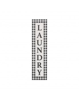 LAUNDRY BLACK & WHITE CHECK LEANER 7488