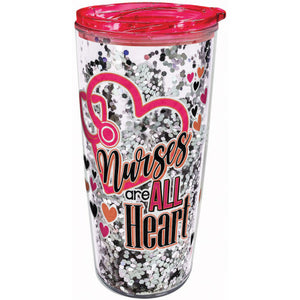 NURSE GLITTER TRAVEL MUG 20259