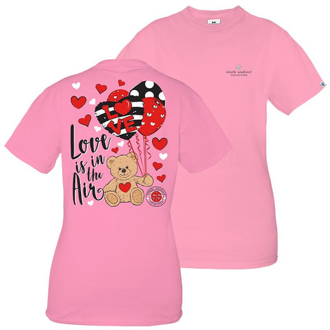 SIMPLY SOUTHERN SHORT SLEEVE - LOVE FLAMINGO