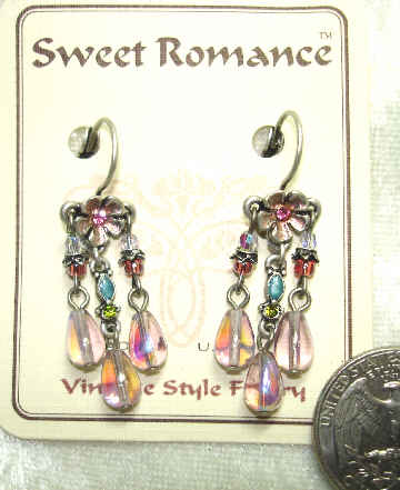 Sweet Romance Pierced Earrings