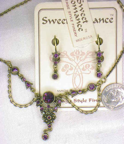 Sweet Romance Necklace & Earring Set