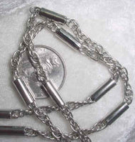 #107c -  Silver Plated Chain 24""