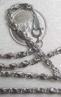 #107p - Silver Plated Chain 24""
