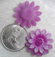 #182S- 24mm Molded Flower Blossom, W. Germany
