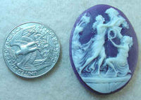#221 - 40x30mm Molded Cameo