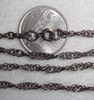 #245g - Victorian Look Antique Finish Chain 24""