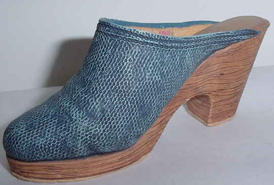 JTRS Denim Blues Shoe - 25141