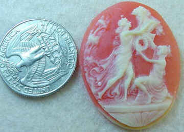 #290 - 40x30mm Molded Cameo