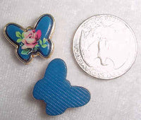 #301 - 19x16mm Molded Butterfly Stone, 2 Pieces