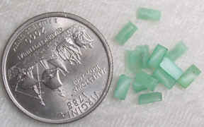 #328 - 5x2mm Czech Glass Stone, 24 Pieces