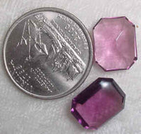 #345ame - Glass Stone 12x11mm, 4 Pieces