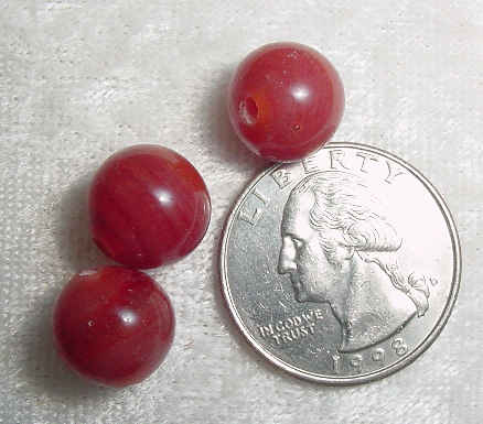 #60 - 12mm Glass Bead, 4 Pieces