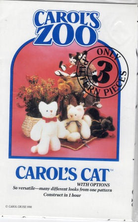 Carols Cat Pattern