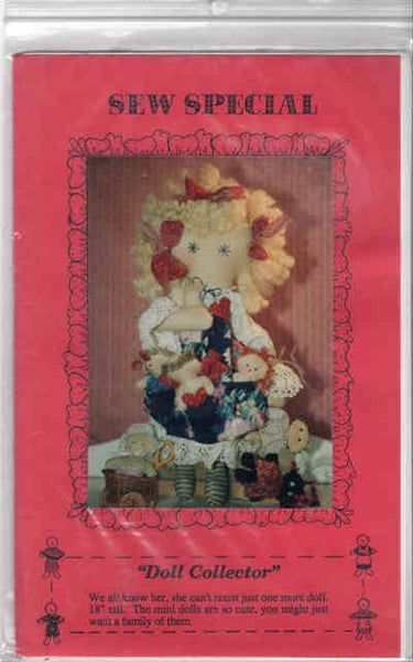 Doll Collector Doll Pattern