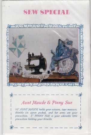 Aunt Maude & Pinny Sue Mice Pattern