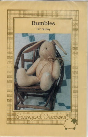Bumbles Bunny Pattern