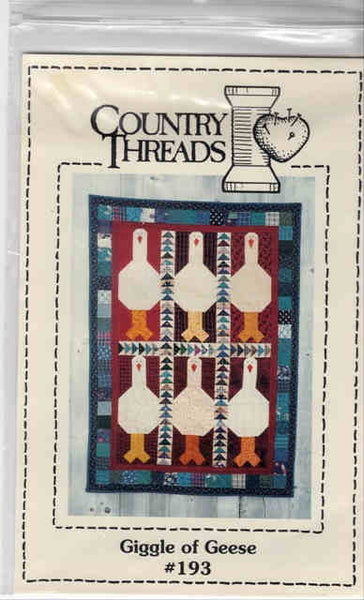 Giggle of Geese Goose Quilt Block Pattern