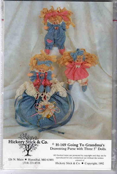 Going to Grandma's Purse & Doll Pattern
