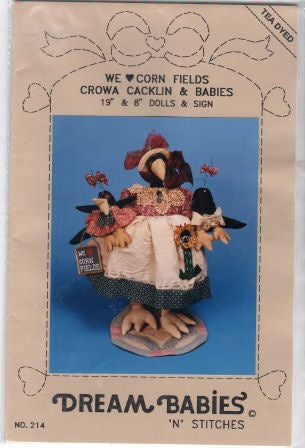 Crowa Cacklin & Babies Crow Pattern