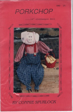 Pork Chop Pig Pattern