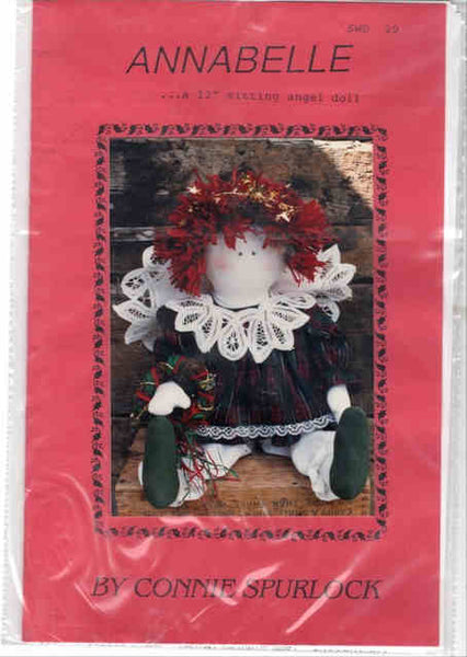 Annabelle Angel Doll Pattern