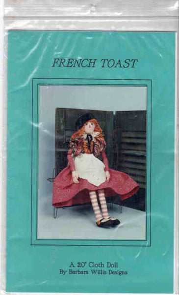 French Toast Doll Pattern