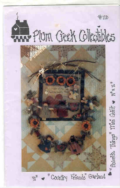 Country Friends Garland & Quilt Pattern