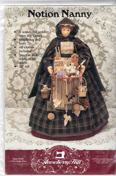 Notion Nanny Doll Pattern
