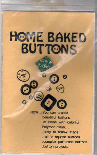 Home Baked Buttons Instruction Booklet
