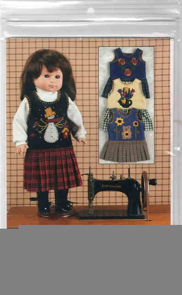 "Mini Jumper Jubilee Pattern for 18"" Doll"