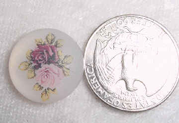 #147 - 18mm Rose Cabochon