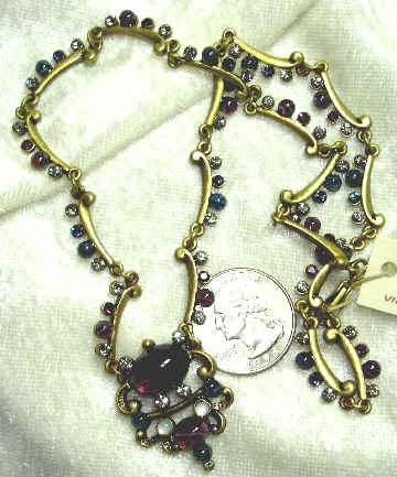 Navarre Jewels Necklace - Amethyst
