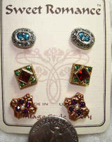 Canterbury Trio Earring Set