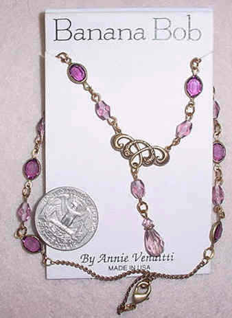 Rosary Necklace - Amethyst